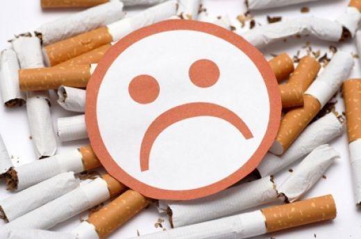От сигарет кружится голова