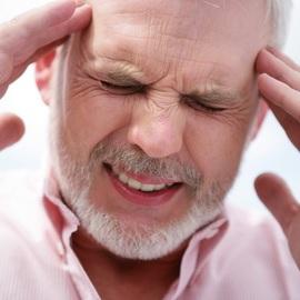 После травмы болит голова