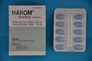 Препараты для лечения паркинсонизма