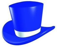 Синяя шляпа