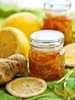 Мед, лимон, имбирь при давлении