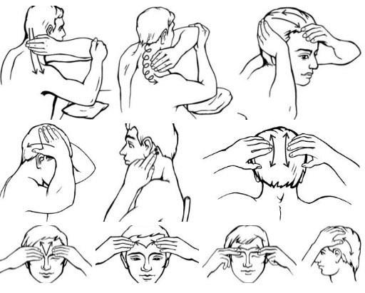Самомассаж мышц головы и шейного отдела
