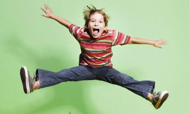 Синдром гиперактивности у ребенка