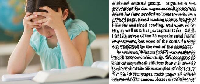 Дислексия у младших школьников