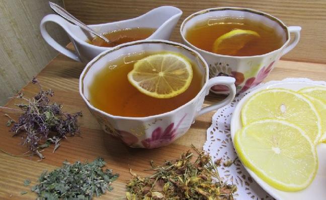 Сбор со зверобоем, мелиссой, мятой и лимоном