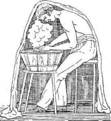 Паровая ванна для головы