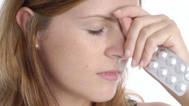 Болит голова в районе лба