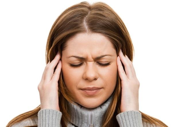 Головная боль, слабость и повышение температуры