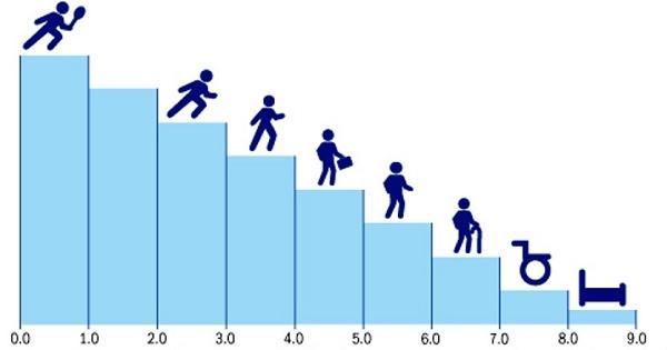 Шкала инвалидизации при рассеянном склерозе
