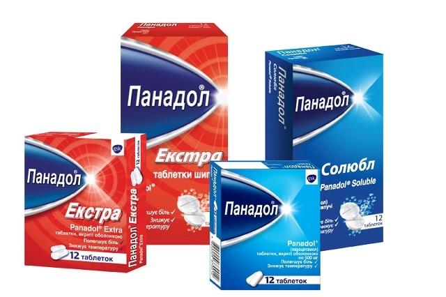 Лекарство Панадол