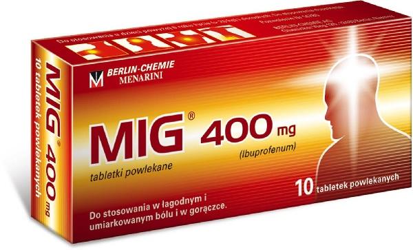 Состав таблеток Миг