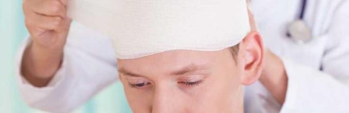 Последствия закрытой черепно-мозговой травмы