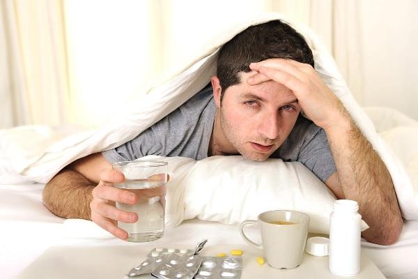 Снять головную боль при похмелье