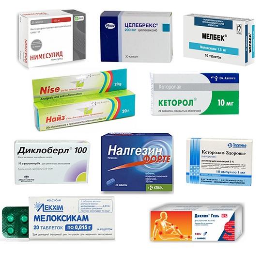 Средства от головной боли и остеохондроза