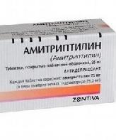 Эффект антидепрессанта Амитриптилина